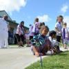 Pinwheel Planting in CDC Pearl Harbor, Hawaii