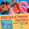 Summer End Party Flyer in Colorado, Colorado Springs