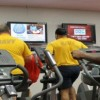 Fitness Complex-NSB Kings Bay servicemen on threadmill