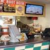 A & W Restaurant Counter in Pensacola, Florida
