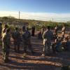 Army Field Talking in El Paso, Texas
