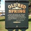 Old Red Spring- sign