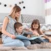 ellsworth air base babysitter- children reading