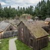 Fort Nisqually Living Museum Village in Tacoma, Washington State