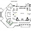 Catering Floor Layout in Kentucky, Fort Campbell