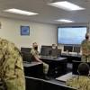 Prospective Chief Petty Officer Training- NAS Oceana-projector screen