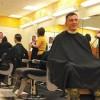 Military Haircut in Eielson, Alaska