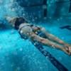 Indoor Pool-Dam Neck swimming cap