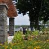 waterfront park saratoga springs- flowers