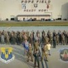 pope army airfield gate- formation