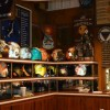 Cubi Cafe Bar Helmet Decor in Pensacola, Florida
