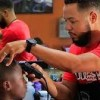 The Nappy Root Barber Shop owner Brandon Hicks