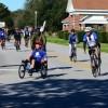 Navy wounded warrior Biking in Pensacola, Florida