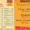 's Taqueria Menu in Bremerton, Washington