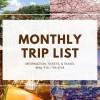 Trip List in Osan, South Korea