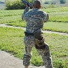 Practice Aiming in Texas, Fort Hood
