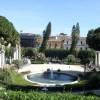 Fountain Park in Catania, Italy