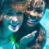 Ladies Smiling Underwater in Colorado, Colorado Springs