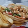 Chicken and Fries Sandwich in Silverdale, Washington