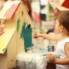 Kids Painting the House in El Paso, Texas