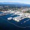 Naval Base Kitsap Shipyard in Bremerton, Washington