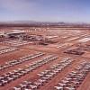 davis-monthan air force base- aeriel view