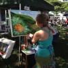 Arts & Crafts Center- JB Pearl Harbor- Hickam-painting