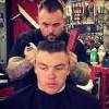 Harmony Church Barber Shop- army haircut