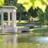 congress park carousel saratoga springs- fountain