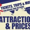 Attractions and Price Banner in Colorado, Colorado Springs