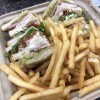 10 Pin sandwich and fries