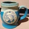 Saratoga Coffee Traders- blue mug