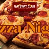 Pizza Night in Casey, South Korea