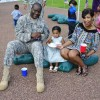 Fort Shafter CDC Celebrating a Party in Wahiawa, Hawaii