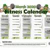 Youth Fitness Calendar in El Paso, Texas