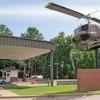 Fort Rucker-hangin chopper