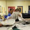 Youth Reading Newspaper in Illinois, Scott AFB