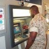 ATM Machine of Navy Federal Credit Union in Tacoma, Washington State