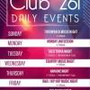 Club 261 Daily Events in Manama, Bahrain