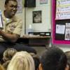 School Liaison Officer-NAS Oceana reading story