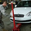 Soldier Repair the Car in Tacoma, Washington State