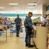 Military at the Counter in Rota, Spain
