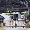 Hanscom Air Force Base-gate