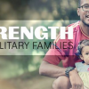 strength military families banner in Schofield Barracks