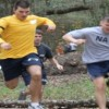 Intramural Sports- NSB Kings Bay running in the wood