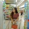 Woman at Grocery in Rota, Spain