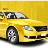 Yellow Taxi Cab in Tacoma, Washington State