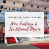 Wine Factory & Traditional Music Banner in Osan, South Korea