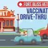 Fort Bliss Vet Clinic Banner in El Paso, Texas