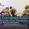 Army Emergency Relief Banner in Colorado, Colorado Springs